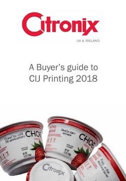 Citronix PDF Guide to CIJ Printing